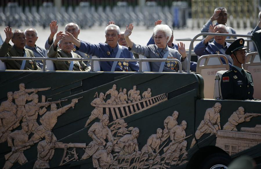 Οι παλαίμαχοι του ''Λαϊκού Πολέμου της Αντίστασης'' έδωσαν το παρόν