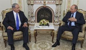 Benjamin Netahanyu,Vladimir Putin στη προχθεσινή συνάντηση τους