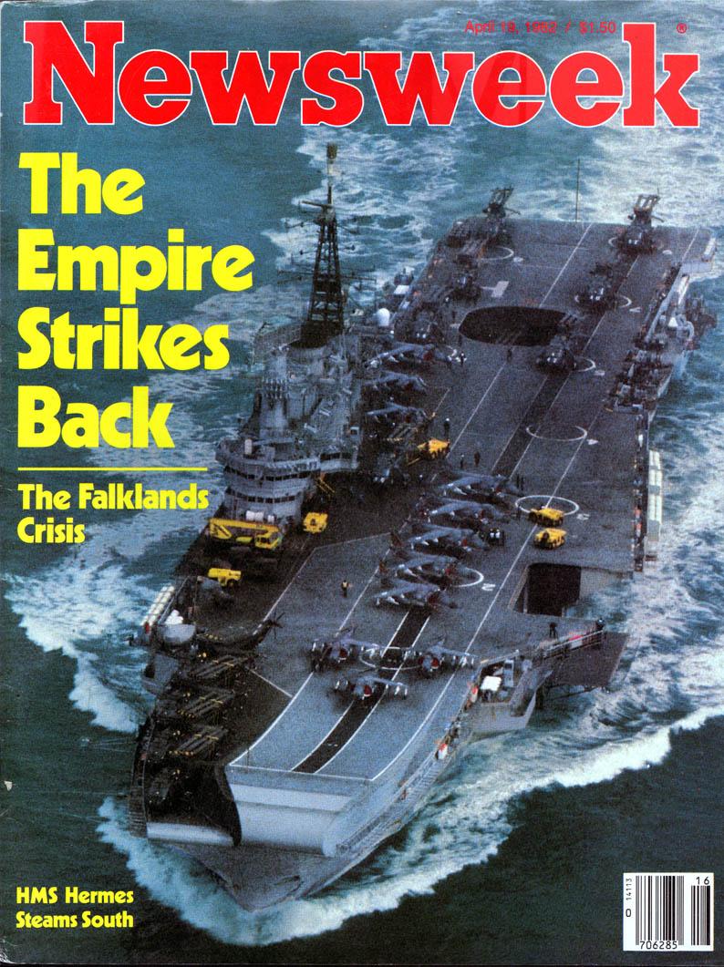 Εξώφυλλο της Newsweek (19 Απριλίου 1982)