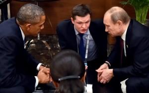 Η συνάντηση Putin Obama στη σύνοδο των G20