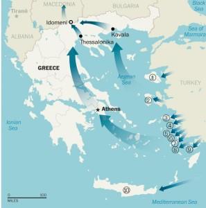 Με την Ελλάδα να αποτελεί τη κύρια πύλη εισόδου λαθρομεταναστών στην Ευρώπη, το ΝΑΤΟ κλήθηκε να παράσχει αρωγή στη κρίση που έχει δημιουργηθεί.