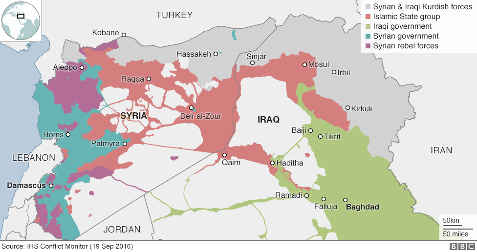Η Συρία (και το Ιράκ) σήμερα..