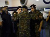 Η Επιστροφή των Δύο Ελλήνων Αξιωματικών στην Ελλάδα:  Γεγονότα…