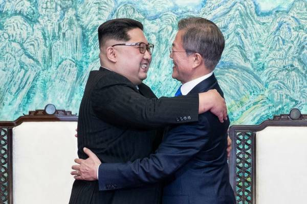 Η πολλά υποσχόμενη συνάντηση μεταξύ των ηγετών Βόρειας και Νότιας…
