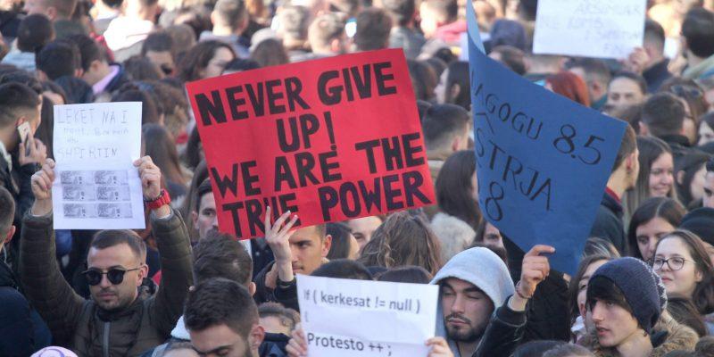 Φοιτητικό κίνημα στην Αλβανία
